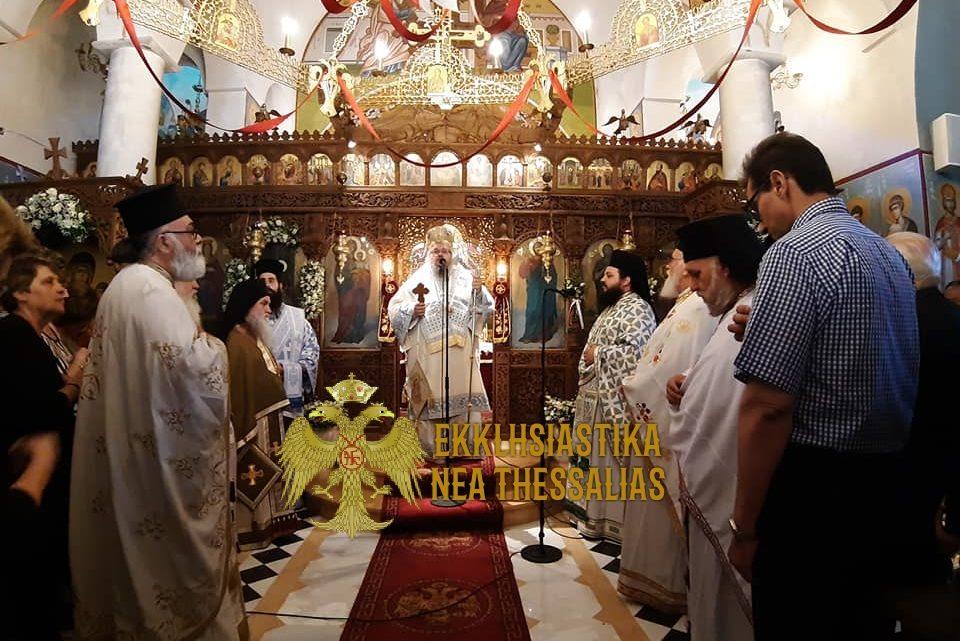 Με Λαμπρότητα η Πανήγυρις στην Ι.Μ. Γενέσιου της Θεοτόκου στην Λαμία
