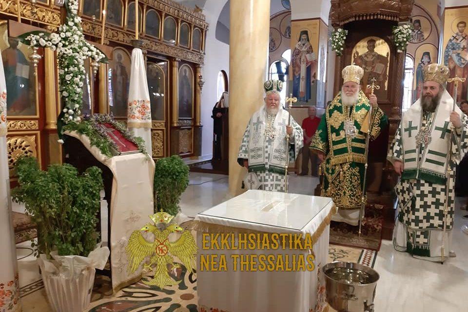 Εορτή της Υψώσεως του Τιμίου και Ζωοποιού Σταυρού στην Ι.Μ. Τρίκκης