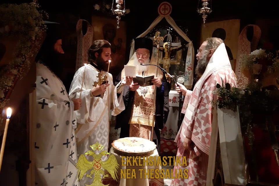 Ιερά Αγρυπνία στην Ι.Μ. Κορμπόβου Τρικάλων