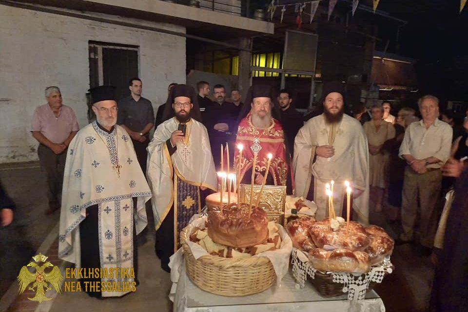Πλήθος πιστών στη γιορτή της Παναγίας Μυρτυδιώτισσας στον Τύρναβο