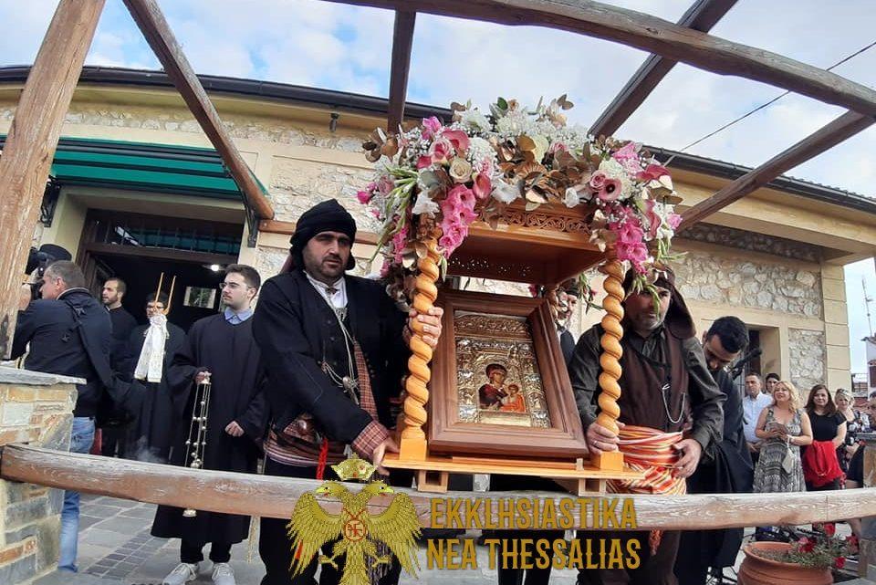 Η Εικόνα της Παναγίας Σουμελάς στην Καλληθέα Ελασσώνας