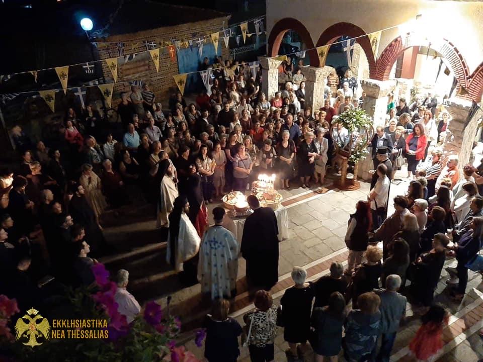 70623435 1372086236277544 5074674473504866304 n - Η γιορτή της Παναγίας Μυρτυδιώτισσας στον Τύρναβο