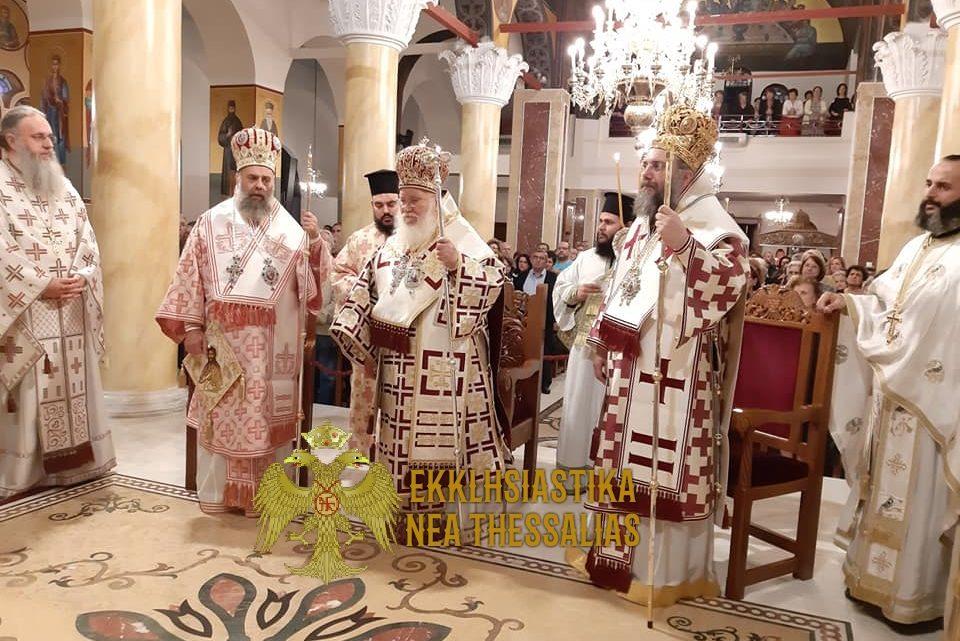 Η Τελευταία Ιερά Αγρυπνία Ενώπιον του Τιμίου Ξύλου στα Τρίκαλα
