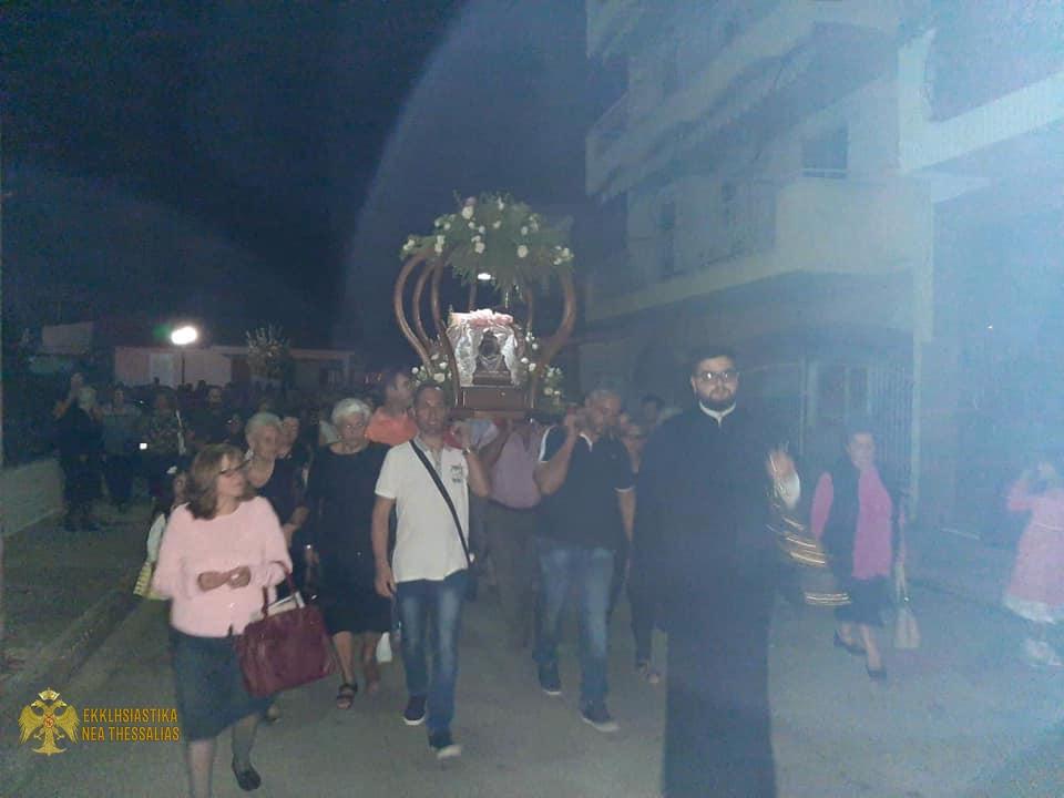 71804157 1372085902944244 7036381291096309760 n - Η γιορτή της Παναγίας Μυρτυδιώτισσας στον Τύρναβο