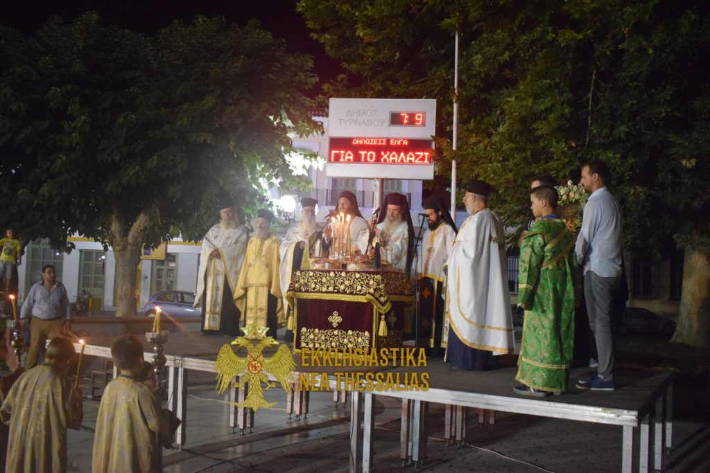 DSC 0250 1024x683 - Στον Τύρναβο Τιμήθηκε το Γενέσιον της Θεοτόκου