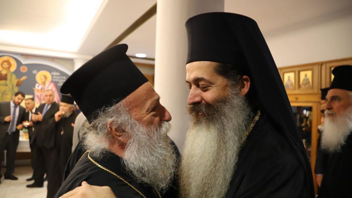Οι Ιεράρχες συγχαίρουν τον νέο Μητροπολίτη Φθιώτιδος