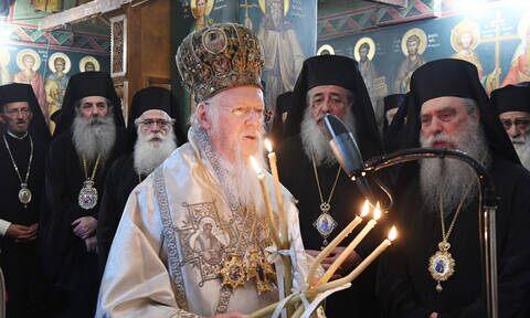 Πατριαρχική θεία λειτουργία – τιμή στην Εκκλησία της Σερβίας