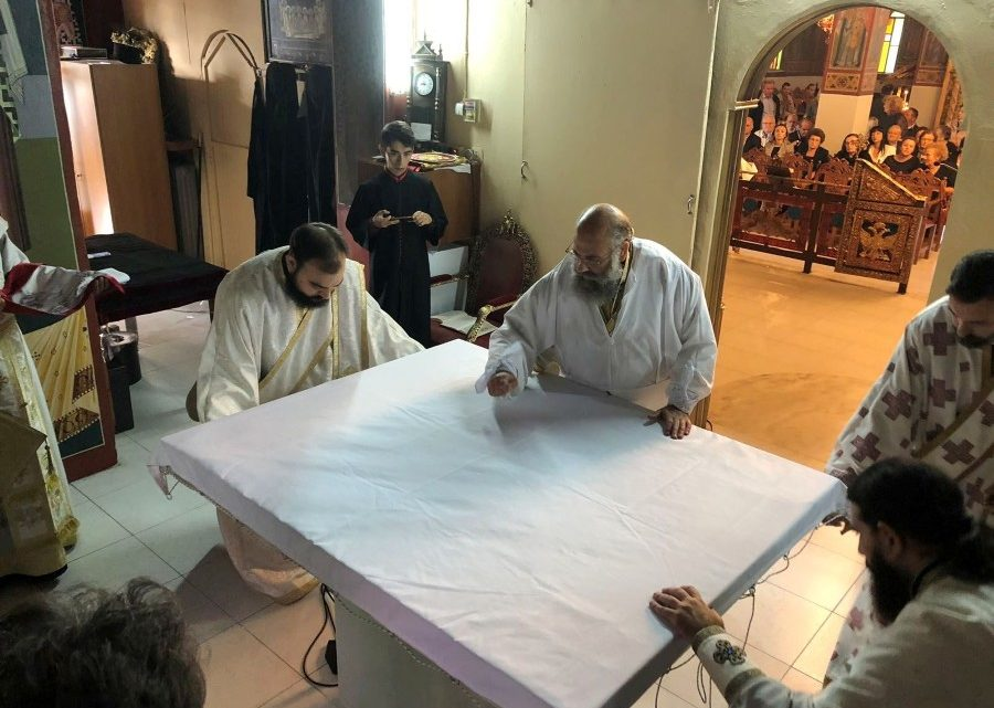 Εγκαίνια Ιερού Ναού Αγίας Κυριακής Κυψέλης