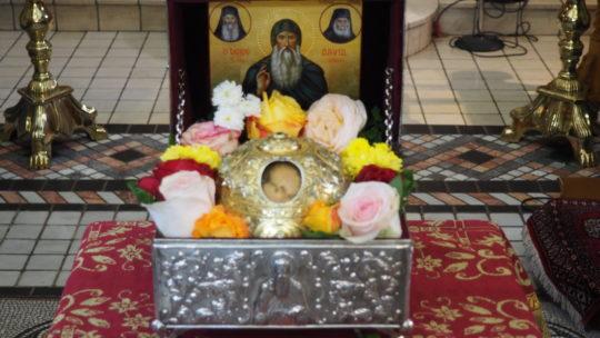 Πανηγυρίζει αύριο 1η Νοεμβρίου 2019 η Ιερά Μονή Οσίου Δαυίδ  Γέροντος στην Λίμνη Ευβοίας.