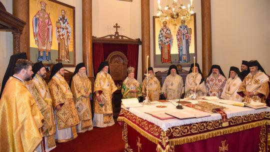 Πατριαρχική Θεία Λειτουργία στις Βρυξέλλες