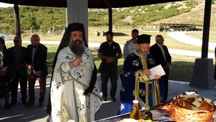 Με Λαμπρότητα Έγινε Ο Εορτασμός Του Αγίου Νεκτάριου Στην 361 ΠΑΠ Δαμασίου