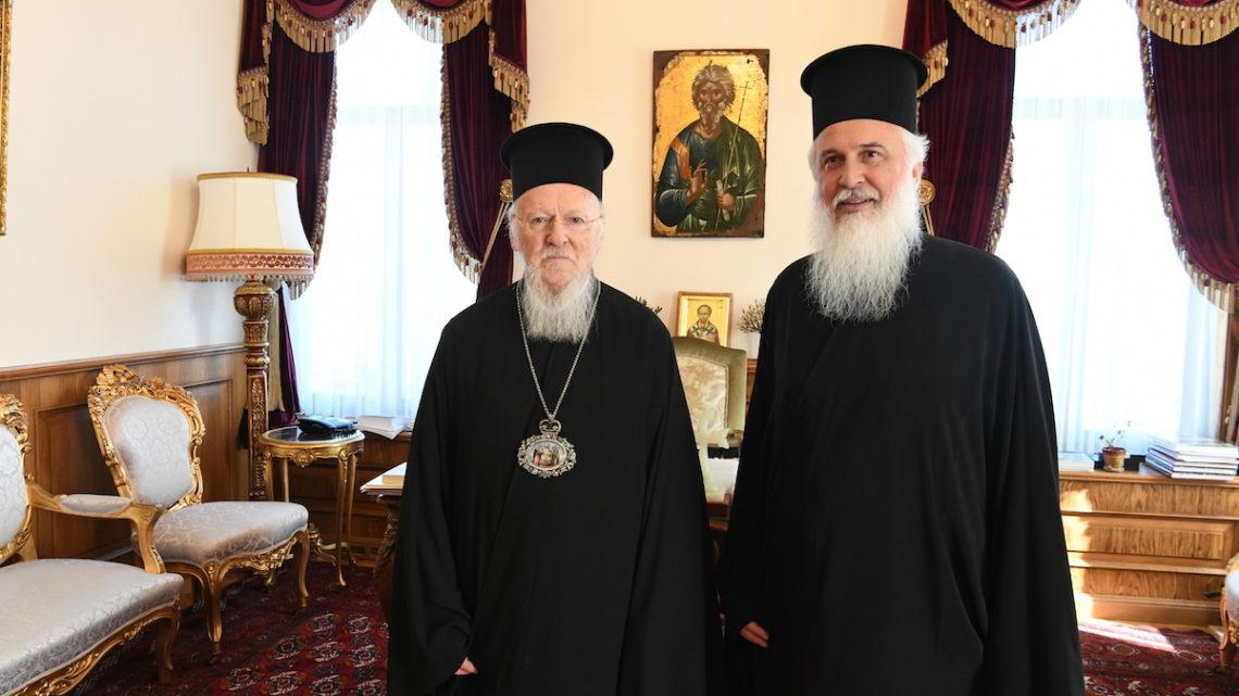 Στον Οικουμενικό Πατριάρχη Ο Νεοεκλεγείς Μητροπολίτης Λήμνου