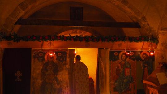Πανηγυρικός Εσπερινός στην Ιερά Μονή Αγίου Νικολάου Καλλισίων – Πεντέλης