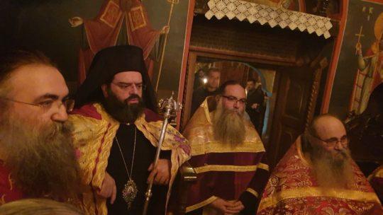 Πρωτοχρονιά στην  Ιερά Μονή Εσφιγμένου