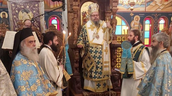 Κυριακή Μετά Τα Φώτα Στον Ιερό Ναό Προφήτη Ηλία Λαρίσης