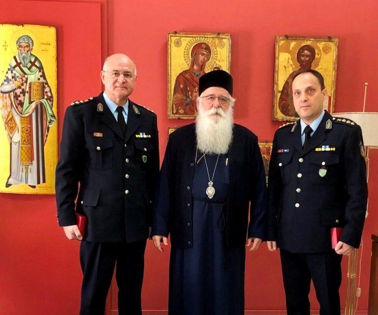 Ο Νέος Αστυνομικός Διευθυντής Μαγνησίας στον Μητροπολίτη Δημητριάδος