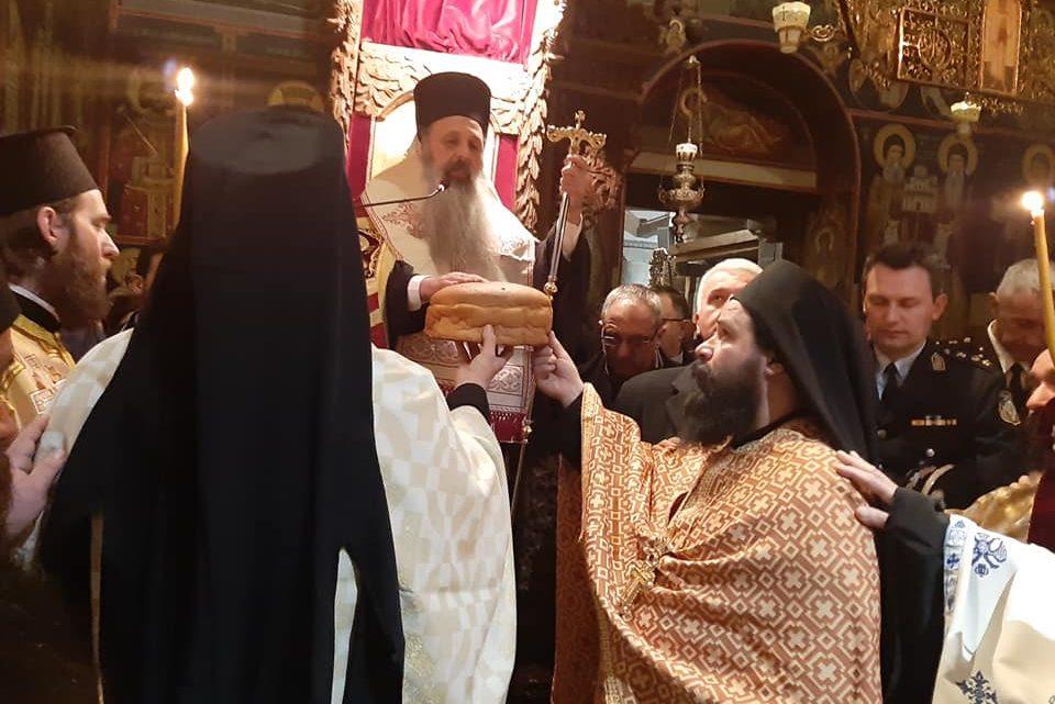 Πανηγυρικός Εσπερινός του Αγίου Χαραλάμπους στην Ι.Μ. Αγ. Στεφάνου στα Μετέωρα