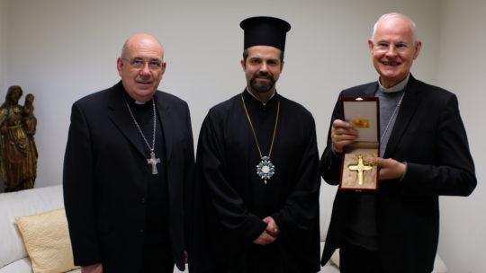 Συνάντηση του Επισκόπου Μελιτηνής με τον Ρωμ/κό Αρχιεπίσκοπο Μοντπελιέ
