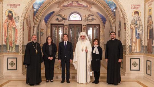 Στον Πατριάρχη Ρουμανίας ο Πρέσβης της Ελβετίας