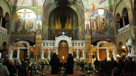 Στην Ιερά Μονή Παναγίας Χρυσοπηγής-Αττικής η ταφή του μακαριστού Μητροπολίτη Κυρού Καλλινίκου