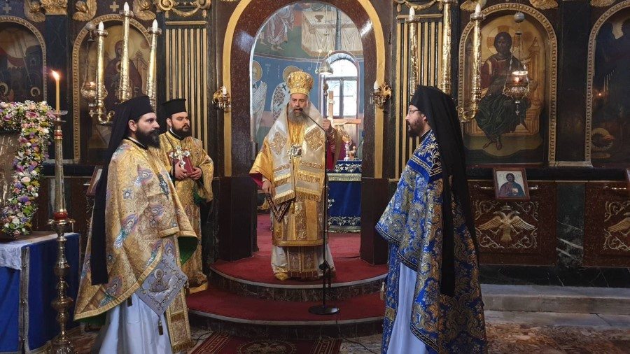 Η δεσποτοθεομητορική εορτή του Ευαγγελισμού της Θεοτόκου