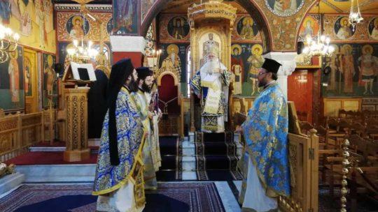 Δημητριάδος Ιγνάτιος: «Θα δώσουμε μαζί τον αγώνα και θα νικήσουμε» – Γιορτάστηκε ο Ευαγγελισμός της Θεοτόκου στην Ν. Ιωνία
