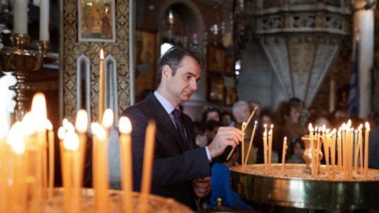 Συγκλονιστικός ο Μητσοτάκης για τον κορονοϊό: «Πήγα να ανάψω ένα κερί – Θα τα καταφέρουμε!