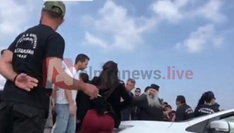 Ένταση σε Μοναστήρι του Αγίου Γεωργίου της κοινότητας Ερήμης της επαρχίας  Λεμεσού μετά από έρευνες αστυνομικών