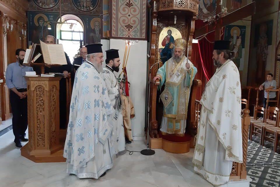 Αρχιερατική Θεία Λειτουργία στο Μουζάκι Καρδίτσας