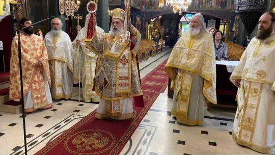 Πρώτη Θεία Λειτουργία με την συμμετοχή πιστών στην Ευαγγελίστρια Γρεβενών
