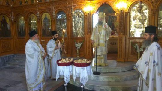 Η Εορτή της Αναλήψεως του Χριστού Ι.Μ. Θεσσαλιώτιδος