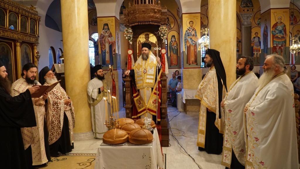 Ο Πανηγυρικός Εσπερινός για την Εορτή των Αγίων  Κωνσταντίνου και Ελένης στην Ιερά Μητρόπολη Τρίκκης και Σταγών