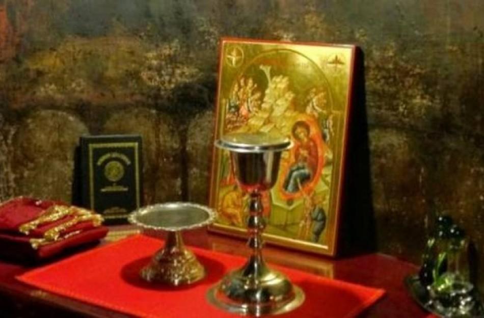Ιερό Σαρανταλείτουργο στο Μετόχι του Αγ. Σεραφείμ της Ι.Μ Κορώνης  στην Καρδίτσα