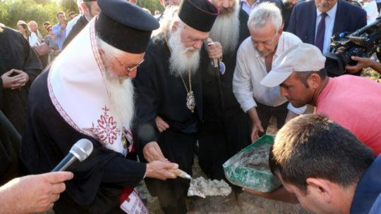 Ο Αρχιεπίσκος θεμελίωσε  τον Βρεφονηπιακό στο Δήλεσι
