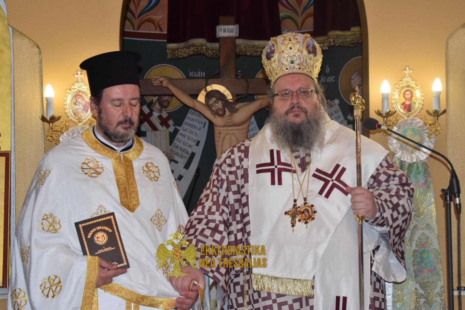 Εορτή το Γενέθλιο  του Προδρόμου και Χειροτονία Νέου  Πρεσβυτέρου στον Τύρναβο