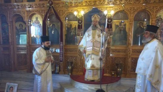 Κυριακή των Αγίων 318 θεοφόρων πατέρων στην Ι.Μ. Θεσσαλιώτιδος