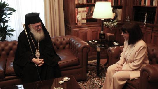 Ο Αρχιεπίσκοπος στην ΠτΔ