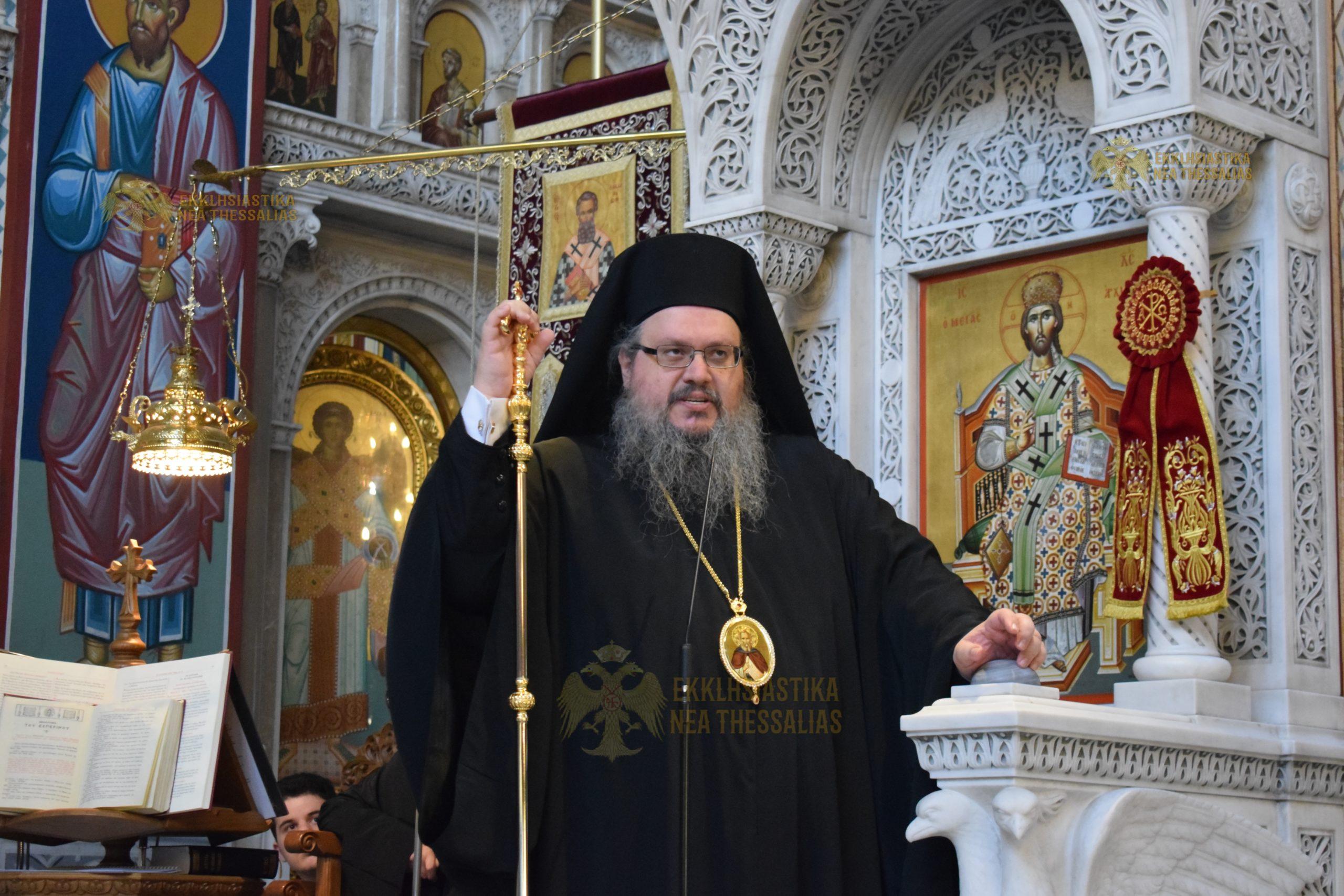 """Λαρίσης Ιερώνυμος: Δεν θα αφήσω κανέναν να αντιμετωπίζει τον χώρο της εκκλησίας ως αντικείμενο προς εκμετάλλευση"""""""