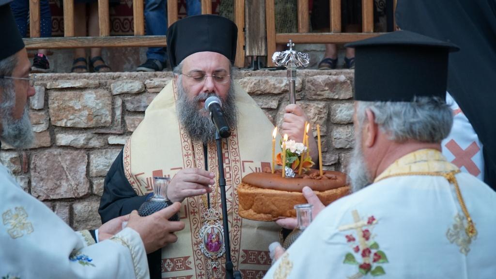 Πανηγυρικός Εσπερινός στην Ιερά Μονή Αγίου Προκοπίου χωρίου Άγιος Προκόπιος Τρικάλων