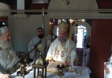 Θεία Λειτουργία στο Ιερό Μητροπολιτικό Παρεκκλήσιο Αγίου Στεφάνου στο Μαυρομμάτι Καρδίτσας