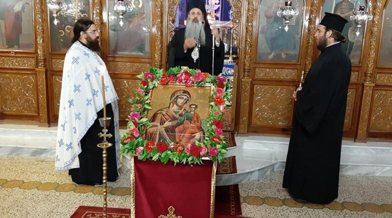 Ιερά Παράκληση προς την Υπεραγία Θεοτόκο στην Οξύνεια  Καλαμπάκας