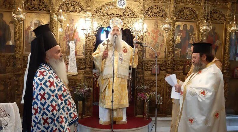 Αρχιερατική Θεία Λειτουργία στην Καστανιά Καλαμπάκας