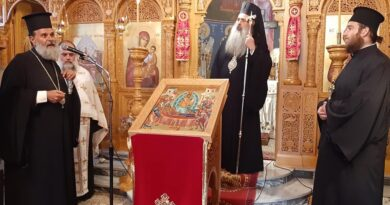 Ιερά Παράκληση προς την Υπεραγία Θεοτόκο στο Ματονέρι Καλαμπάκας