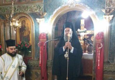 Ιερά Παράκληση προς την Κυρία Θεοτόκο στον Ιερό Ναό Αγίου Νικολάου Μαραθέας