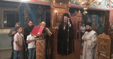 Ιερά Παράκληση προς την Κυρία Θεοτόκο στον Ιερό Ναό Αγίου Γεωργίου Καλλιθέας Φαρσάλων