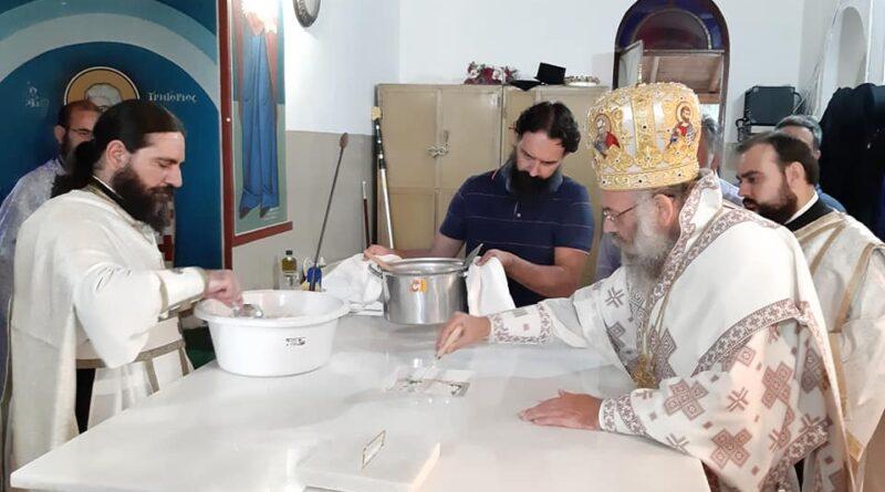 Εγκαίνια του Ι.Ν. Αγίου Δημητρίου στην Νεράιδα Φαρσάλων