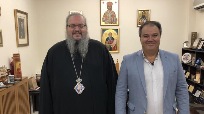 Νέος Διευθυντής Στην Σχολή Βυζαντινής Μουσικής Της Μητροπόλεως Λαρίσης και Τυρνάβου