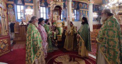 Τον Πολιούχο της Άγιο Αντώνιο τίμησε η  Αγιά