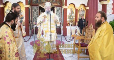 Κυριακή Της Δ΄ Νηστειών στον Ι.Ν. Αγ. Γεωργίου στον Τύρναβο