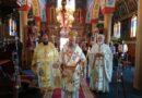 Θεία Λειτουργία στον Ιερό Ναό Ζωοδόχου Πηγής στο Χωριό  Ζωοδόχου Πηγής Φαρσάλων
